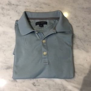 Banana Republic blue polo